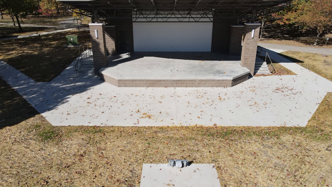 City Of Bryan Celebrates Completion Of New Amphitheater Funded By 10 Years Of Donations Wnwo