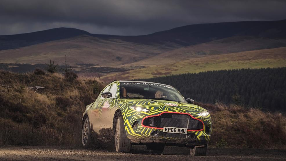 2020 Aston Martin DBX: Design, Powertrains, Arrival >> Aston Martin Reveals Dbx Name First Prototype For Suv Wnwo