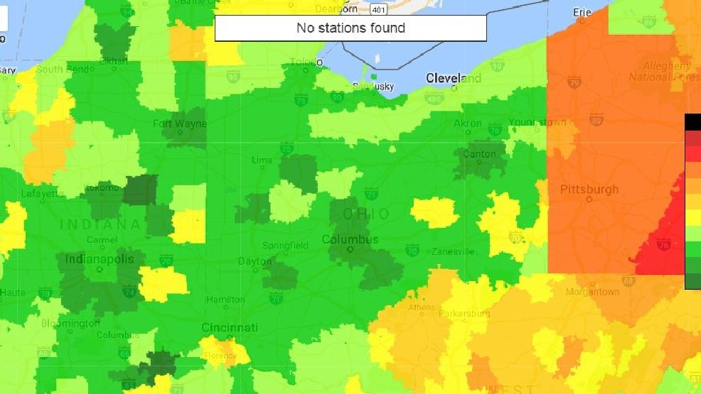 Columbus Gas Prices >> Ohio S Average Gas Price Is Lowest In Us As Week Begins Wnwo
