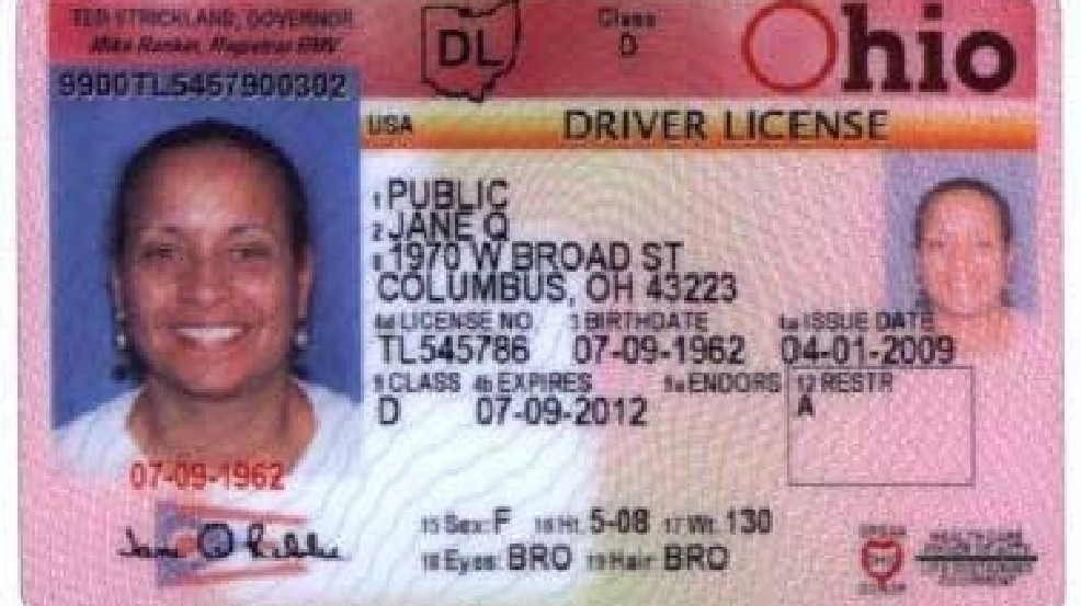 Prevent Boarding Ohio From License Wnwo Planes Could Showing Driver's You