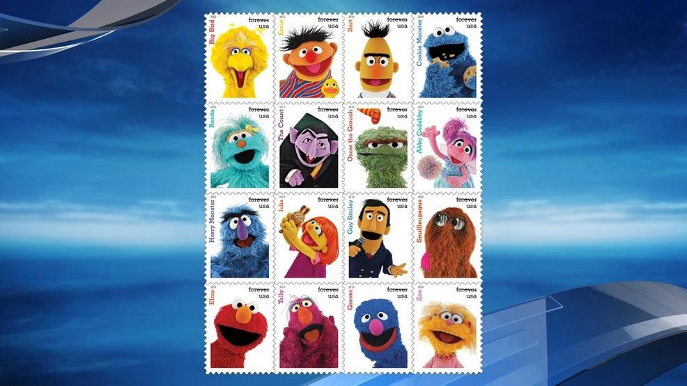 US Postal Service honors 50 years of 'Sesame Street' with