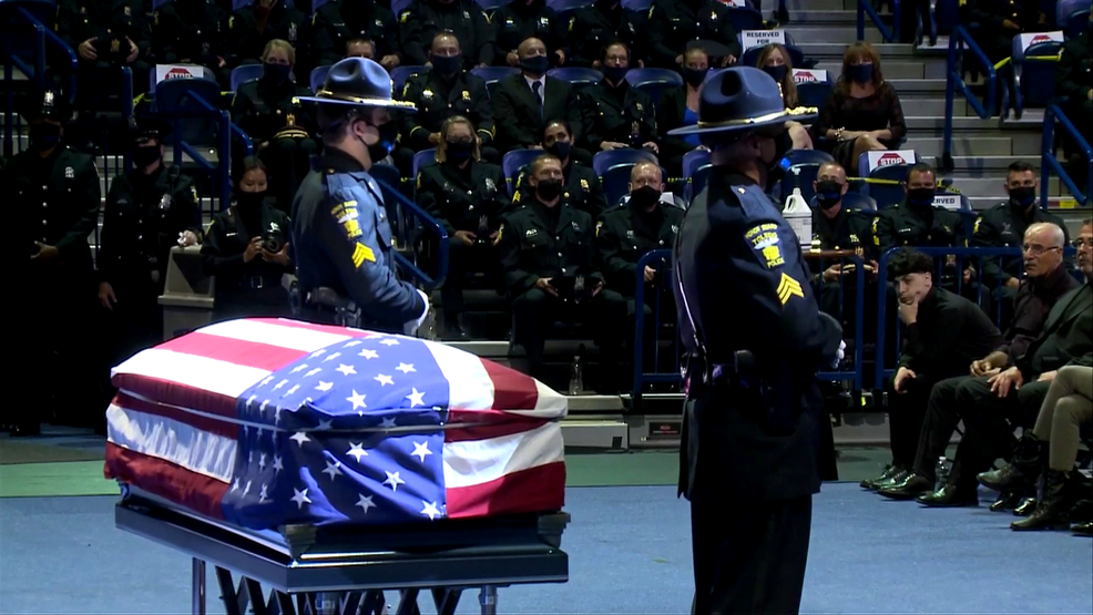 Thousands attend funeral to honor Toledo Police Officer Anthony Dia | WNWO