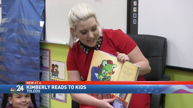 Right to read week with VIP guest reader Meteorologist Kimberly